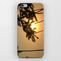 Hawaiian Sunset iPhone & iPod Skin
