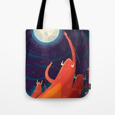 :::Touch the Moon::: Tote Bag
