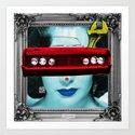 Liz Car 2 Art Print