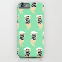 Bathing Beauties iPhone 6 Slim Case