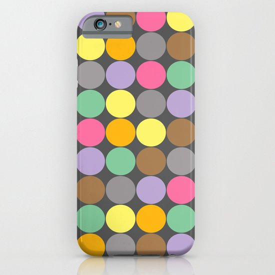 Candy Rounds Coal (white available too) iPhone & iPod Case