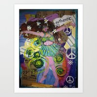 Loose Woman Art Print
