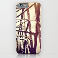 iPhone & iPod Case featuring Bridge by Elektrikk