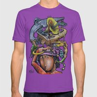 Crazy 4 Music - Mr.Klevr… Mens Fitted Tee Ultraviolet SMALL
