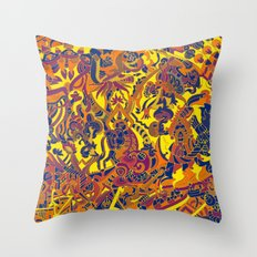 on board Throw Pillow