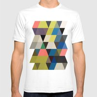 color story - traverse  Mens Fitted Tee White SMALL