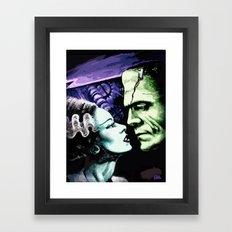 Bride Of Frankenstein Mo… Framed Art Print