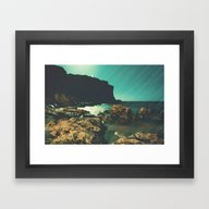 Ask The Night To Explain Framed Art Print