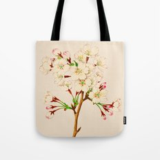 Yoshino Cherry Blossoms ~ Vintage Japan Art Tote Bag