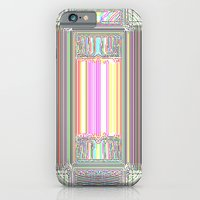 iPhone & iPod Case featuring Moderne Glitch by Horus Vacui