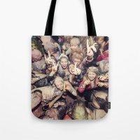 The Throng Tote Bag