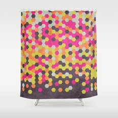 Honeycomb | Abyss Shower Curtain