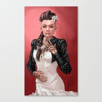Mass Effect - Jack's Wed… Canvas Print