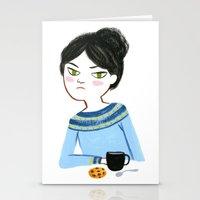 Mondays Stationery Cards