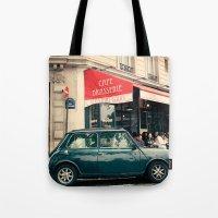 Paris Iles Tote Bag