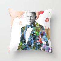 Bond, James Bond Throw Pillow