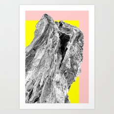 Touched Down in Baltimore Art Print