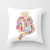Scarf Throw Pillow