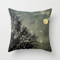 Hallowmoon Throw Pillow