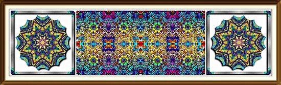 Deco Garden 3 Art Print