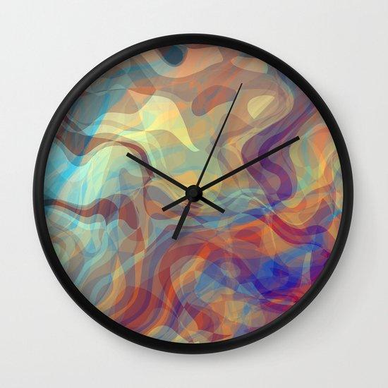 still here Wall Clock