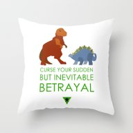 Throw Pillow featuring Firefly Betrayal by Pixel.pwn | AK