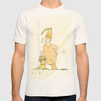 Pijiama Man Mens Fitted Tee Natural SMALL