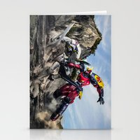 Gurren Battle Stationery Cards