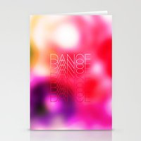 DANCE Stationery Cards
