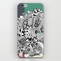 Orden Inverso iPhone & iPod Skin