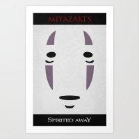 Spirited - Minimal Poster Art Print