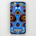 Sugar Skull #9 iPhone & iPod Skin