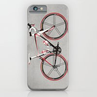 iPhone & iPod Case featuring Race Bike by Wyatt Design