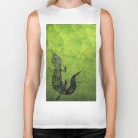 Leopard Gecko Biker Tank