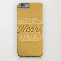 Colossians 3:23 iPhone 6 Slim Case
