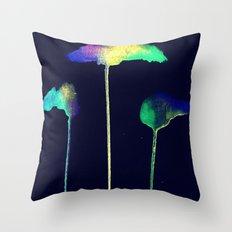Raining Colour Throw Pillow