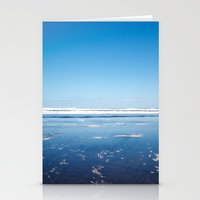 The end of the earth. Stationery Cards