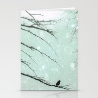 Stationery Card featuring Winter Solstice by The Strange Days Of Gothicolors