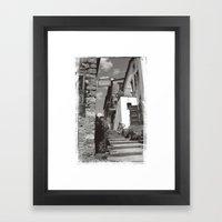 Pienze Framed Art Print