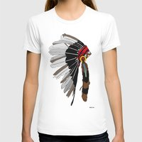 native T-shirts featuring Native  by weliketrees