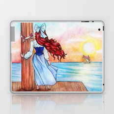 When Love Sails Away... Laptop & iPad Skin