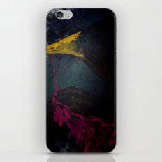 quoth the raven iPhone & iPod Skin