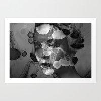 Faces 19 Art Print