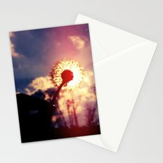Dandelion in the Sun Stationery Cards