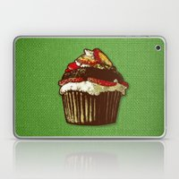 strawberry cake Laptop & iPad Skin