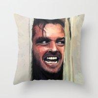 Fear. Throw Pillow