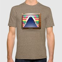 Kaleidoscope TV version C Mens Fitted Tee Tri-Coffee SMALL