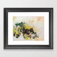 Framed Art Print featuring Hot Mixer by Kara Hamer