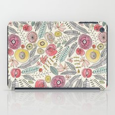 feather fleur watercolor iPad Case