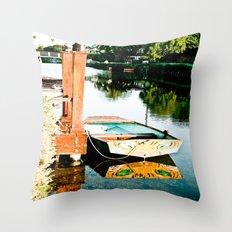 Docked Throw Pillow